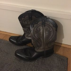 Ariat Western Cowboy Boots Women's Size 10 ! Black